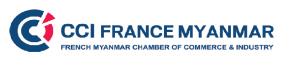 CCI France Myanmar logo
