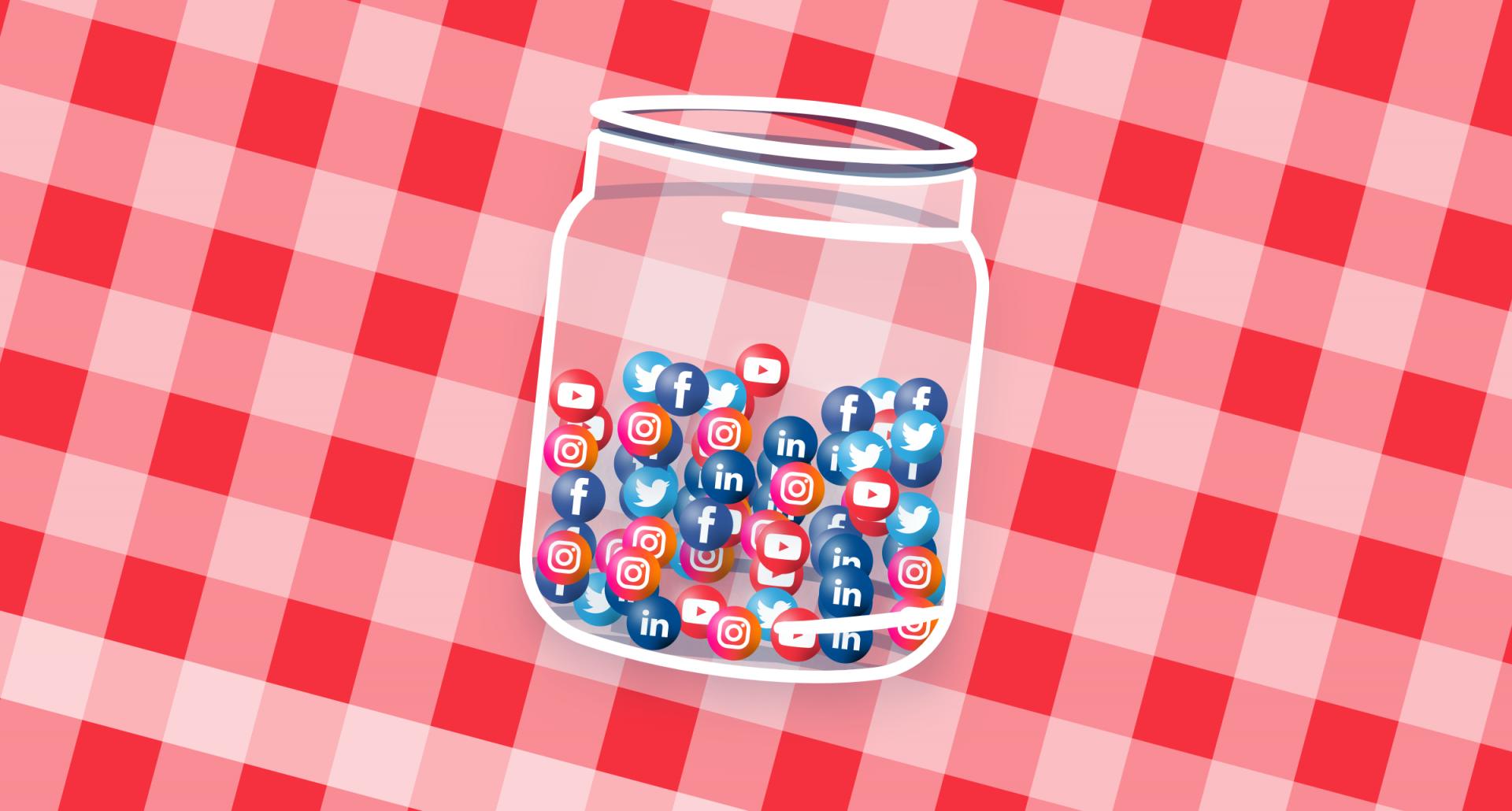 social media event branding
