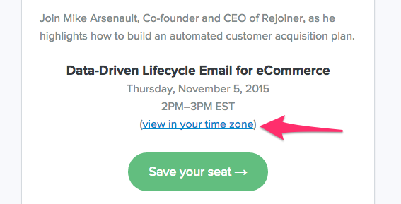 email invite seats