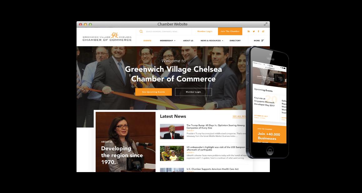 New Chamber Website Solution