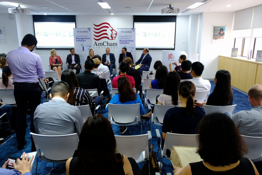 Glue Up - Best Practices ></p> <p>Glue Up's new Singapore office was officially launched at the 'Membership Management & Community Engagement Best Practices' panel discussion at the American Chamber of Commerce Singapore on September 19, 2018.[/caption]</p> <p>Glue Up was founded in 2013 by Eric L. Schmidt, CEO, and Olivia Jingshu Ji, COO, and has grown via sales success and private venture funding. The Company has a deep bench of talent drawn from Google, IBM, Walt Disney, Oracle, Tableau, NBC. The software solutions have been recognized worldwide by iChina Tech2016 Award (2016), Top 20 Alibaba Cloud Innovation Award (2017), MICE Best Event Solution of the Year Award (2017), Greater Washington Innovation Awards (2018), and was the winner of the CV Magazine Technology Innovator Awards (2018).</p> <p>Rolling out the regional expansion will enable the Glue Up team to be closer to their customers and to engage new ones. Those that will be able to benefit from the new offices include existing Corporates e.g. Daimler, Deloitte, Facebook, Orange, as well as Chambers of Commerce and Associations such as the American Chamber of Commerce in Hong Kong or DIA, and community organizations like Lean In or Startup Weekend.</p> <p>With the new offices in Singapore and Hong Kong, Glue will be able to consolidate its position as the leading event and chamber management technology services company in Asia. The region is the forecast to generate the majority of global economic output before the end of the decade according to the World Bank. East Asia and the broader pacific rim GDP growth at 6.3% in 2018. </p> <p>Allied to this economic growth is the rapid adoption of cloud-enabled-services, with Cisco forecasting that internet traffic will grow at a compound annual rate of 25% through to 2020. The macro trends will further drive the need and create the infrastructure for the event and membership management solutions developed by Glue Up.</p> <p ><strong>About Glue Up</strong></p> <p><img src=