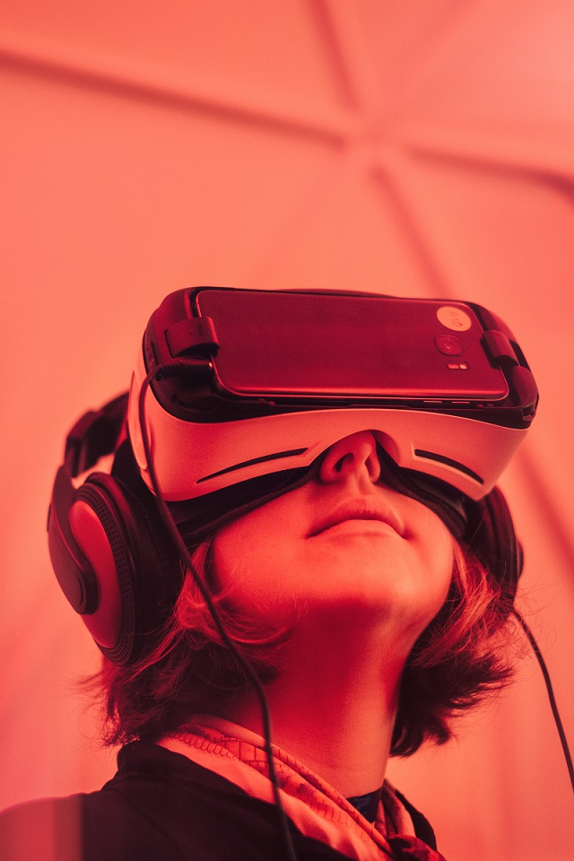 use virtual reality at your event