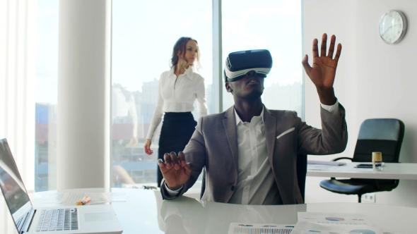 VR remote meeting