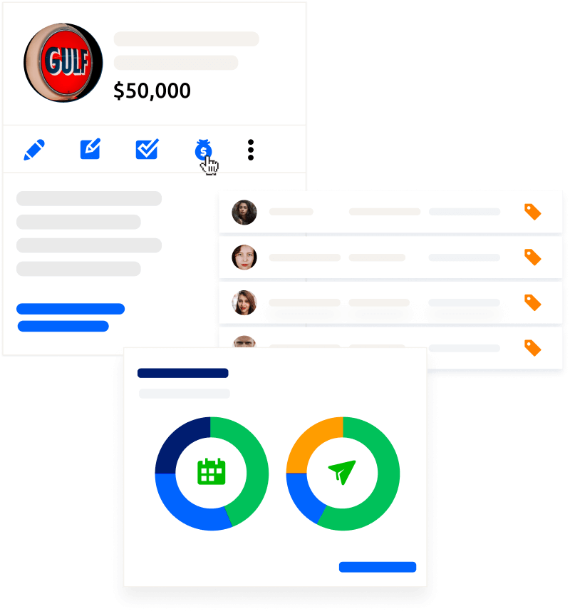 Glue Up provides you with an engagement CRM logo