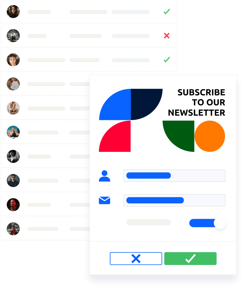Glue Up helps you personalize your communications with subscription lists