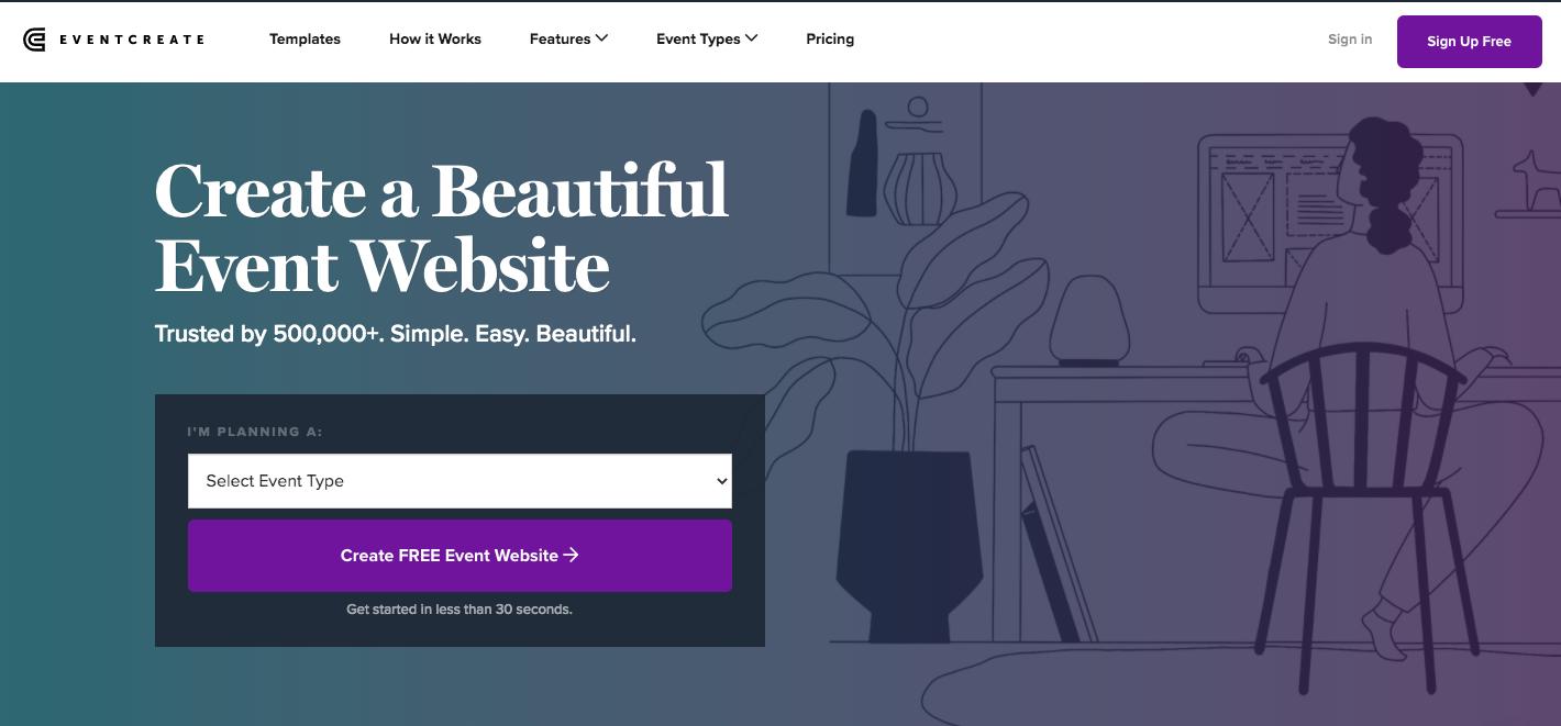 eventcreatewebsitebuilder