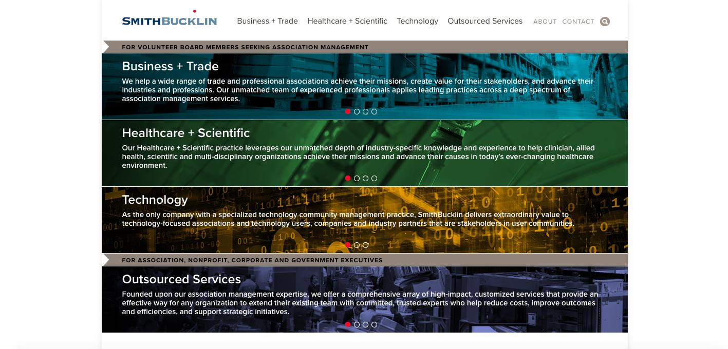 SmithBucklin homepage