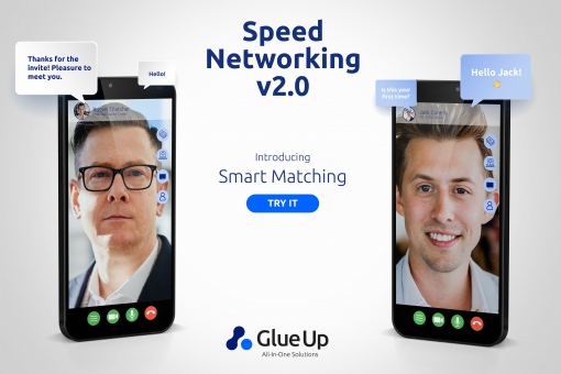 Glue Up Introduces Speed Networking 2.0 with Smart Matching Technology