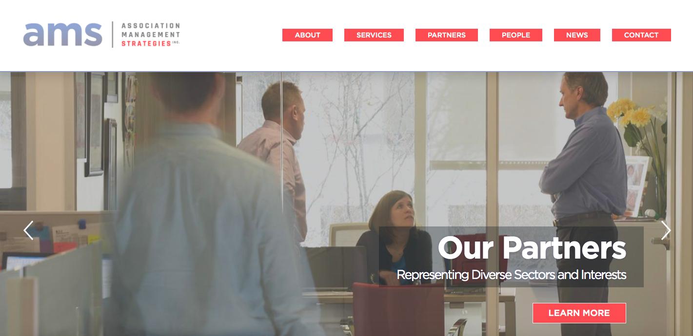 Association Management Strategies homepage