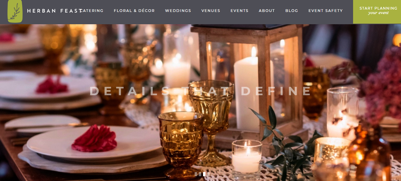 herban feast home page